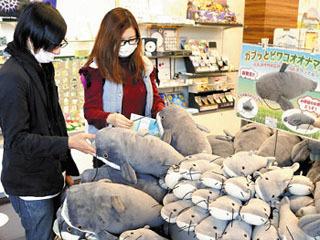琵琶湖博物館のミュージアムショップおいでや