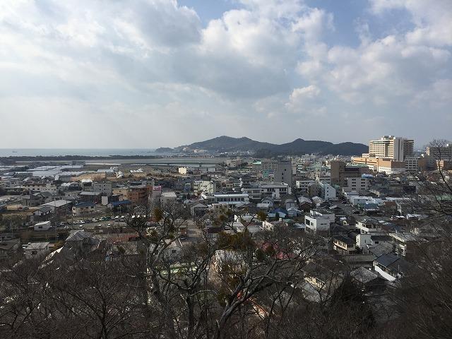 紀三井寺から見た風景