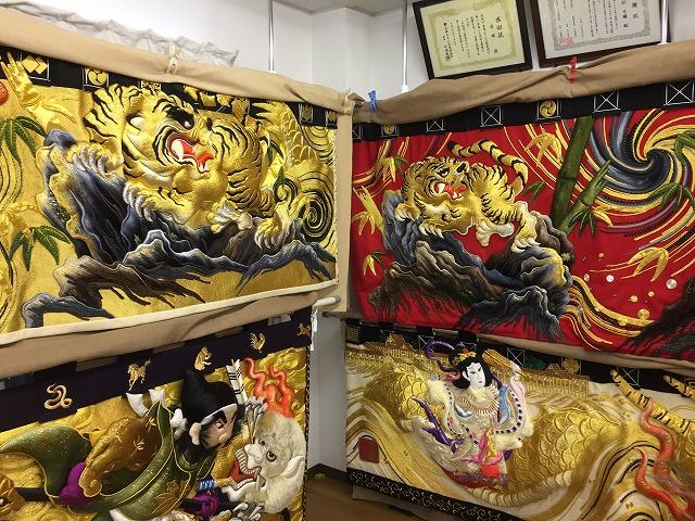 日本刺繍180303④