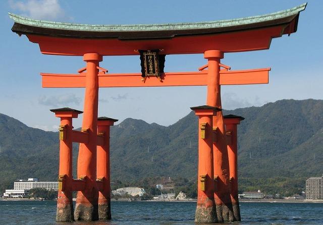 ①厳島神社