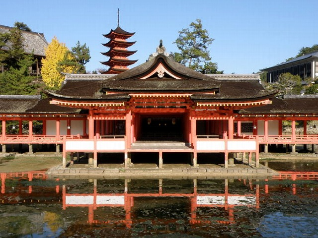 ②厳島神社