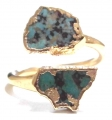 Turquoise Wrap Ring Gold 31 (2)