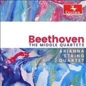 Arianna String Quartet Beethoven The Middle Quartets【『最安値3CD』】アリアンナ弦楽四重奏団ベートーヴェン中期弦楽四重奏曲集