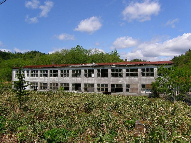 2009年 北海道 車中泊の旅 9日目-2 黄金岬~羽幌炭鉱~初山別村