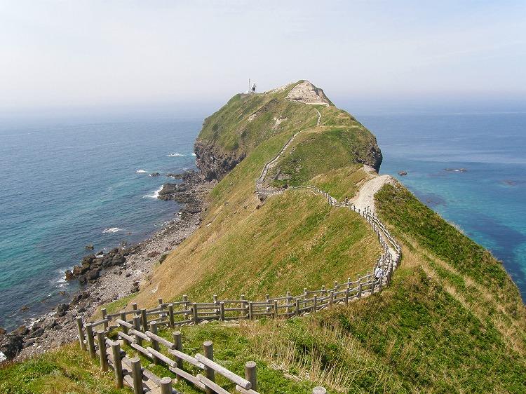 2009年 北海道 車中泊の旅 5日目-2 神威岬 島武意海岸
