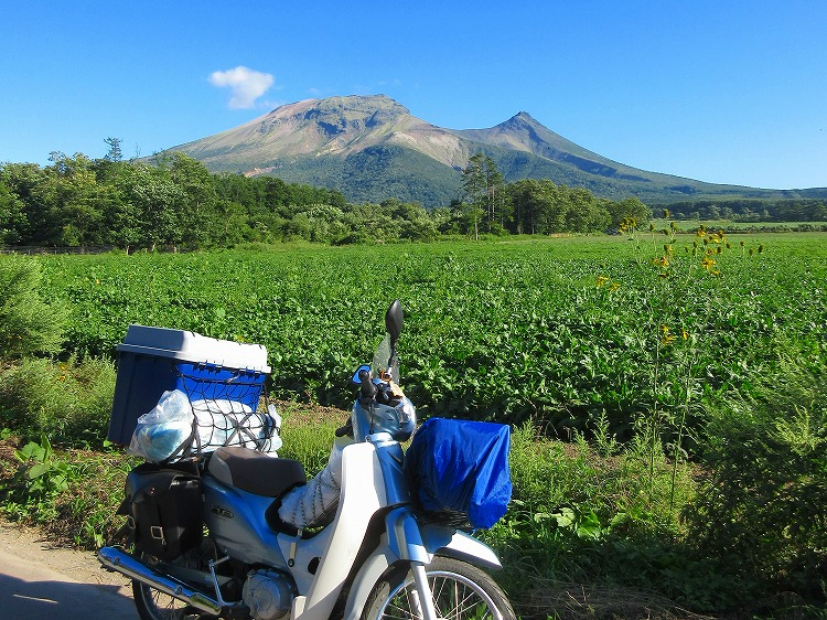北海道 一周 スーパーカブの旅 51日目-2 恵山岬~長万部公園キャンプ場