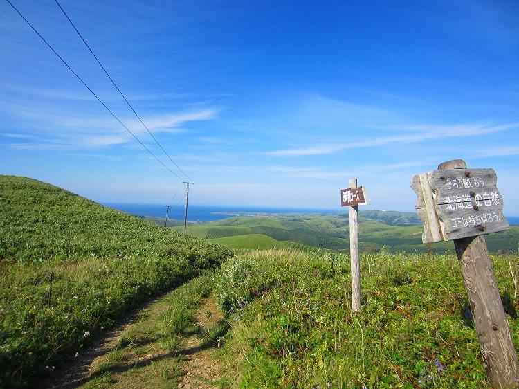 2012 車中泊の旅 60日目-4 礼文島 8時間逆コース リタイア