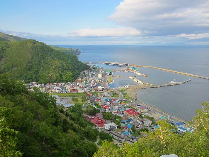 北海道 車中泊の旅 16日目-3     フレトイ展望台  クジラの見える丘公園