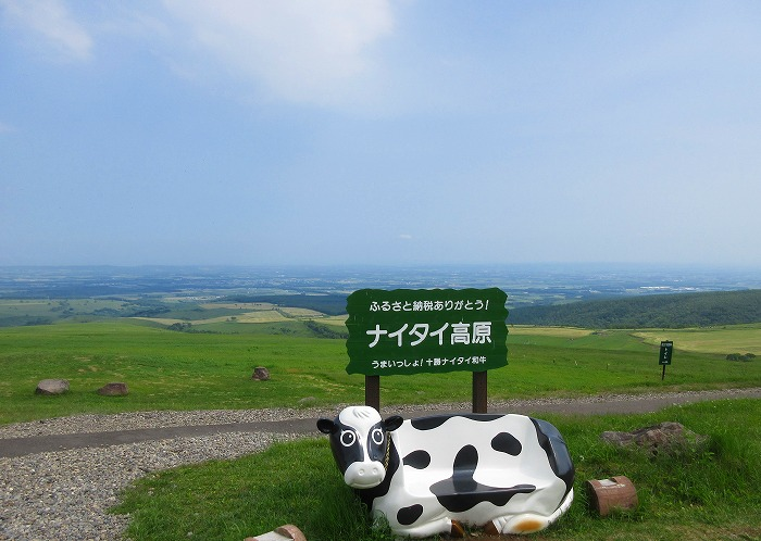 北海道 スーパーカブの旅 5日目-2 ナイタイ高原牧場~上士幌航空公園キャンプ場