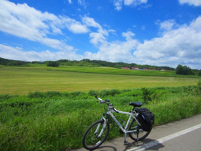 北海道 車中泊の旅 20日目-1 幕別町~大樹町 自転車サイクリング