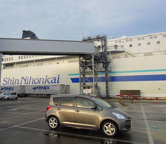 2014 北海道 車中泊の旅 1日目 秋田フェリーターミナル~苫小牧東港