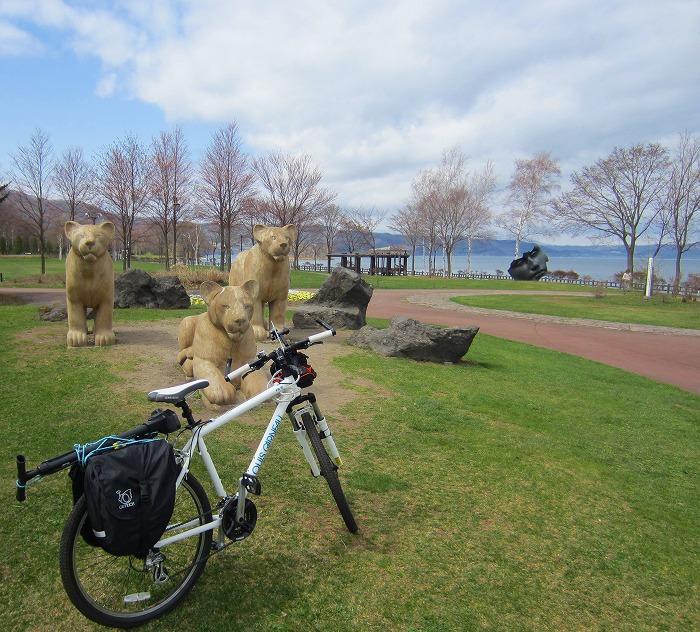 2014 北海道 車中泊の旅 2日目 洞爺湖自転車一周