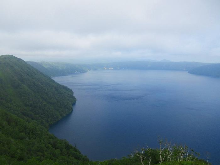 北海道 スーパーカブの旅 9日目-2 摩周湖~小清水原生花園~女満別湖畔キャンプ場