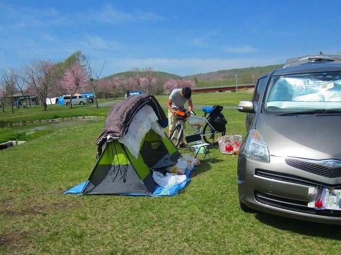 2014 北海道 車中泊の旅 12日目 つるいキャンプ場