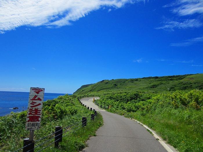 北海道の旅 16日目-2  天売島 自転車 一周