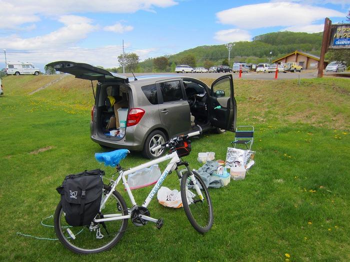 2014 北海道 車中泊の旅 18日目 忠類~大樹町 自転車 サイクリング