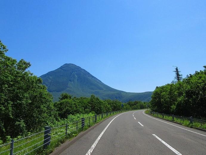 北海道 ツーリング スーパーカブの旅 18日目-1  斜里町~名もなき展望台~知床横断道路