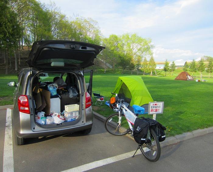 2014 北海道 車中泊の旅 19日目-2 かなやま湖~上富良野町日の出公園キャンプ場