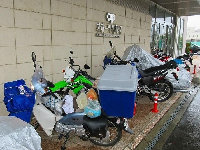 北海道 ツーリング スーパーカブの旅 21日目 紋別市~女満別湖畔キャンプ場