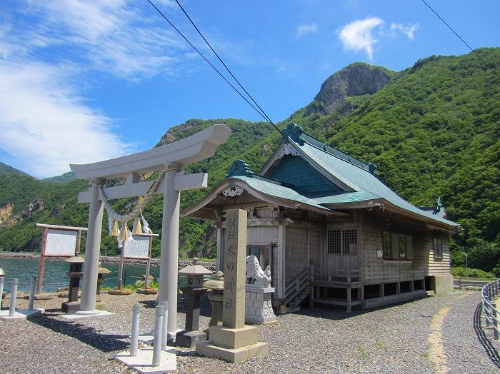 北海道 車中泊の旅 43日目-1  夷王山キャンプ場~上国鉱山~太田神社