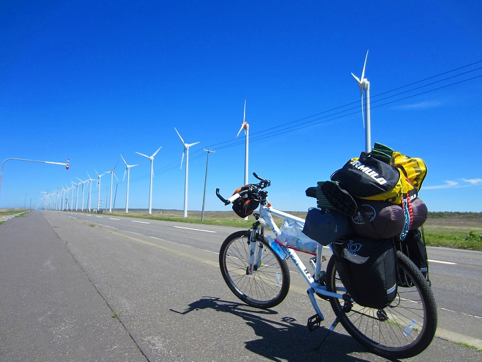 北海道 車中泊の旅 32日目-1  道道106号 自転車 サイクリング