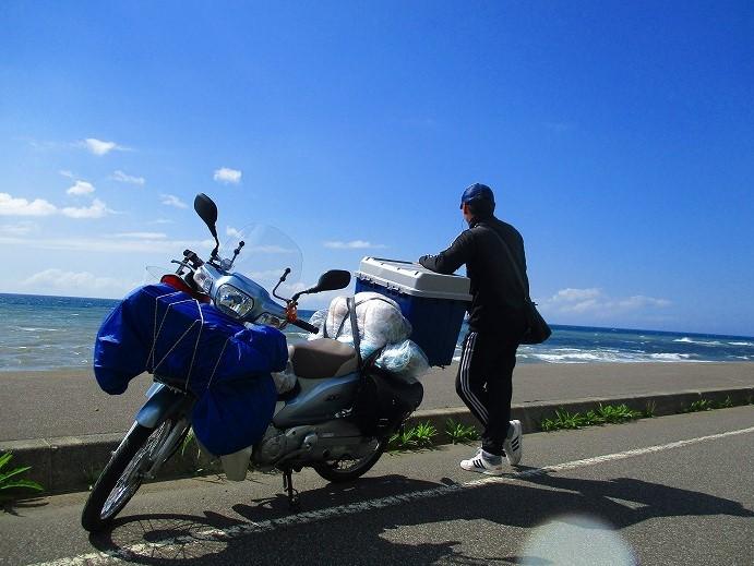 北海道 一周 スーパーカブの旅 29日目-2   羽幌炭鉱跡~ほたるの里オートキャンプ場