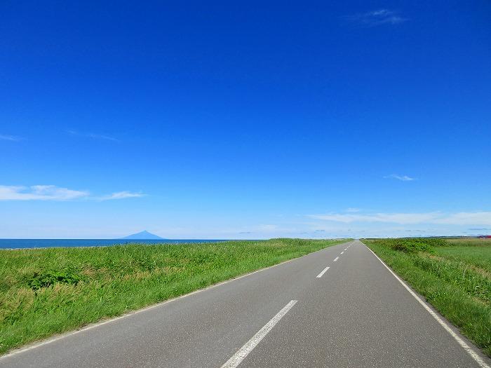 北海道 ツーリング スーパーカブの旅 27日目-1  音威子府村~天塩町