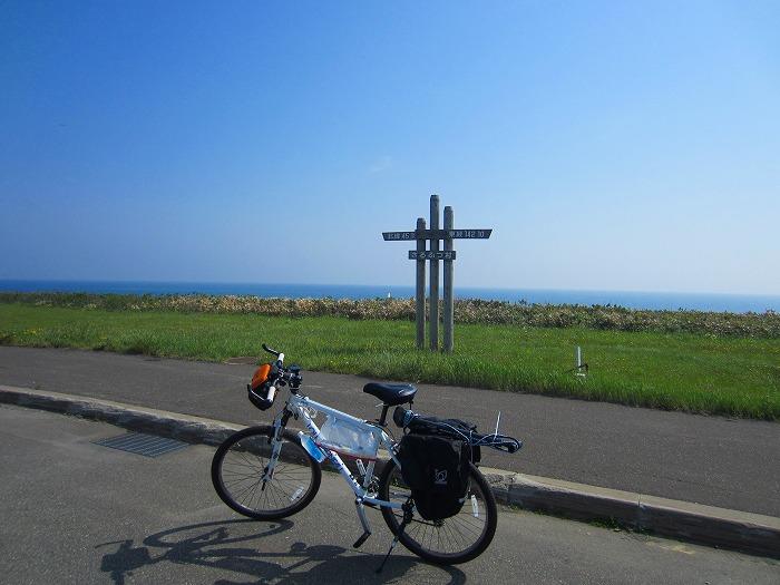 北海道 車中泊の旅 35日目-1 エサヌカ線 自転車 サイクリング