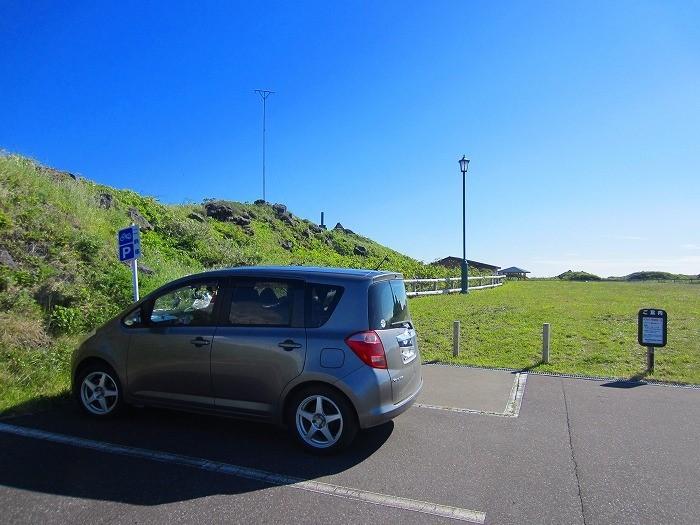 北海道 車中泊の旅 42日目-2  利尻島 沓形岬公園