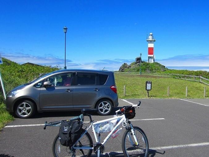北海道の旅 43日目-1   利尻島 自転車一周