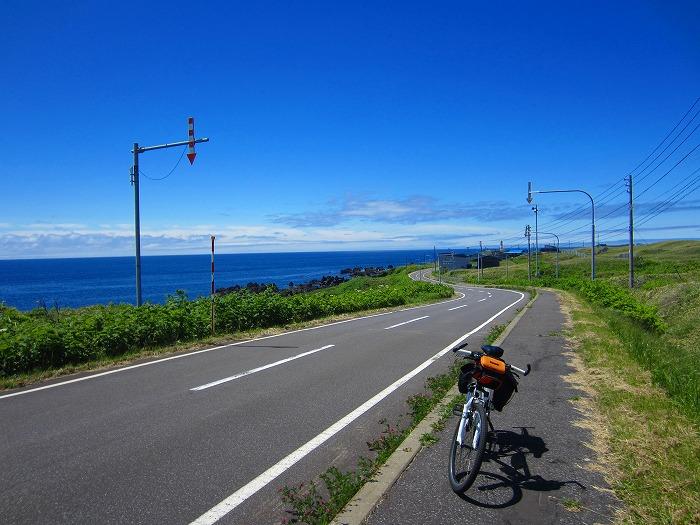 北海道の旅 43日目-2 利尻島自転車一周~利尻島自転車道