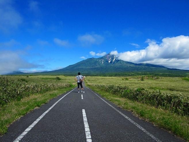 2014 北海道の旅 43日目-3 利尻島 自転車一周 利尻島自転車道路