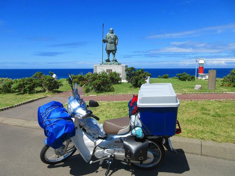 北海道 ツーリング スーパーカブの旅 35日目-1 積丹町~弁慶岬