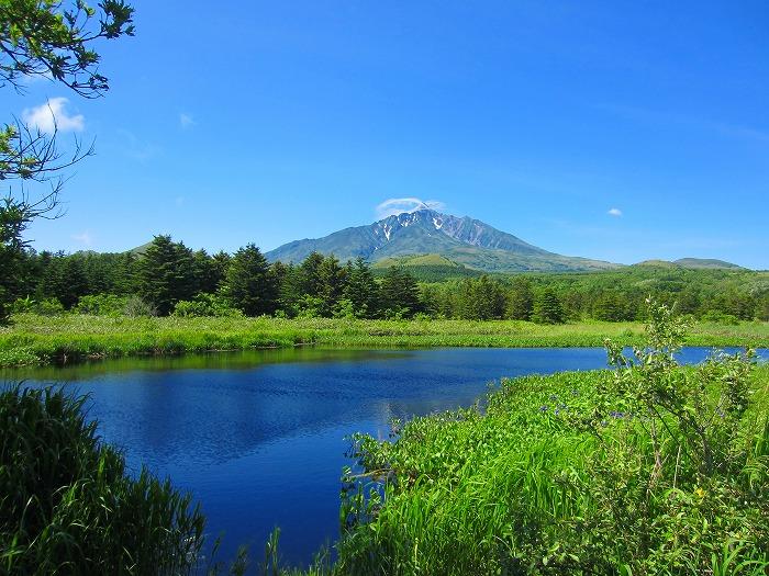 北海道の旅 50日目-1  利尻島 自転車 一周