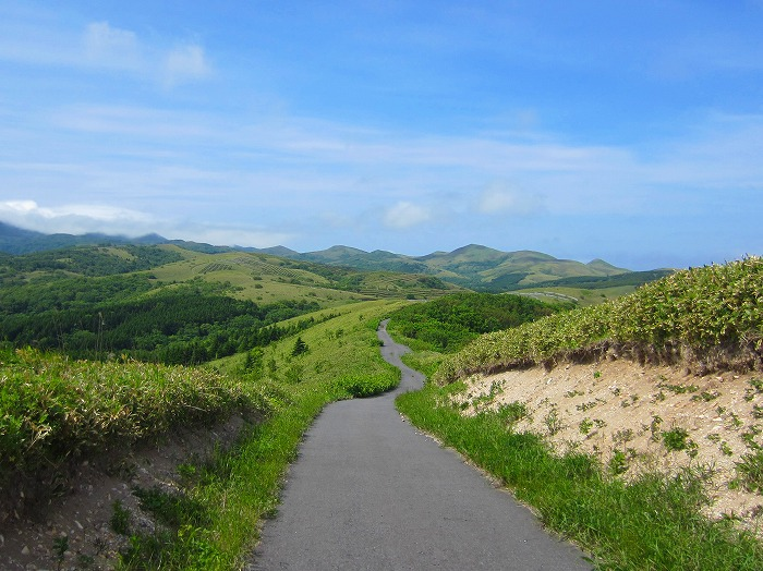 2014 北海道の旅 52日目-1 礼文森林の丘コース~礼文島自転車一周