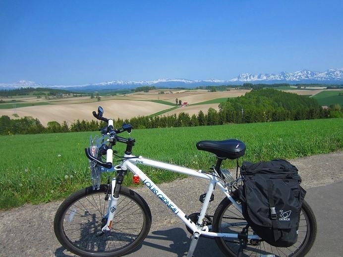 2015 北海道の旅 3日目-2 美瑛 自転車サイクリング