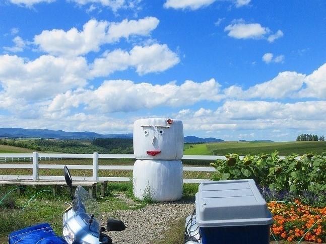 2017年 北海道 スーパーカブの旅  52日間の旅  一覧