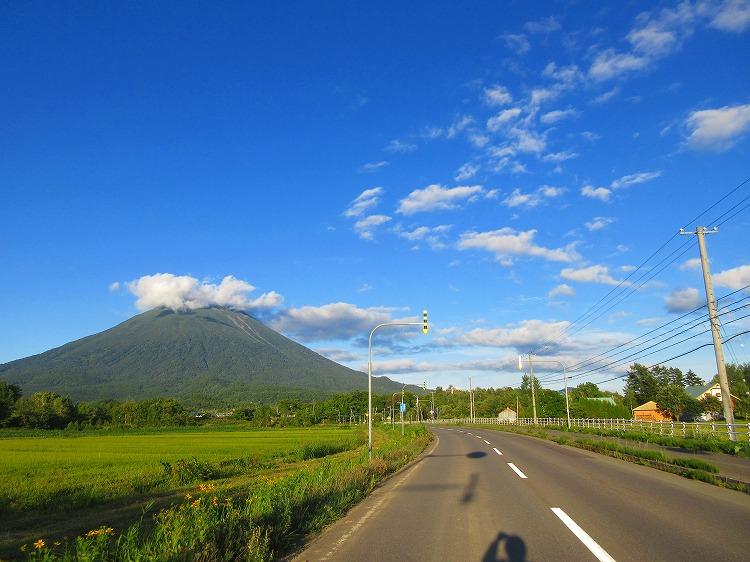 スーパーカブ50 キャンプツーリング 49日目-2  石狩市~京極町