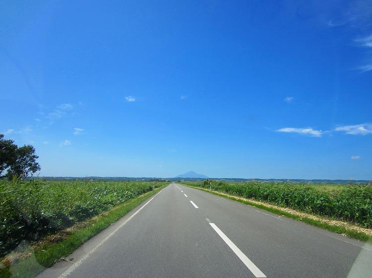 北海道 車中泊の旅 58日目-2 宮の台展望台~初山別村
