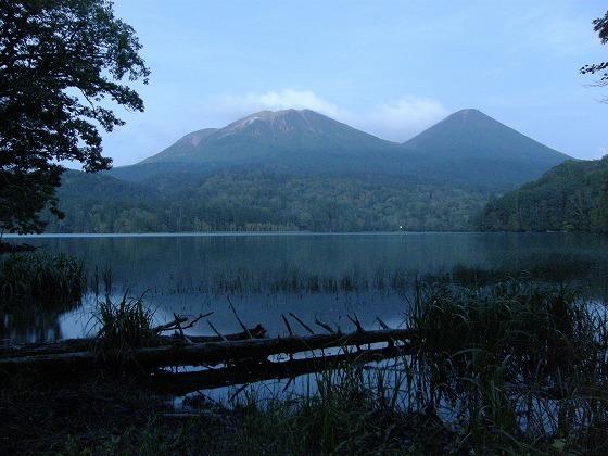 2009年 北海道 車中泊の旅 132日目 シュンクシタカラ湖