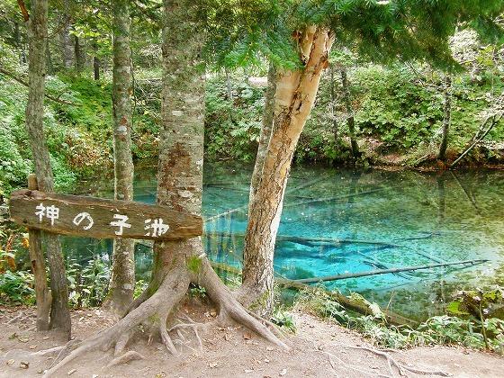 2009年 北海道 車中泊の旅 131日目 神の子池