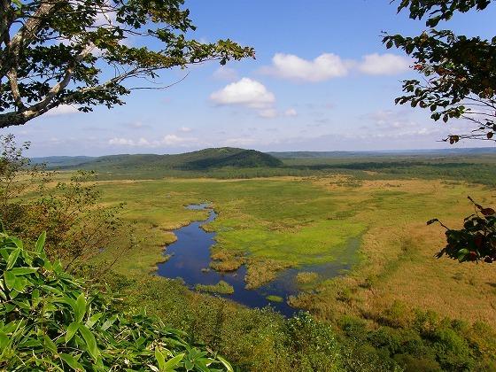 2009年 北海道 車中泊の旅 126日目 コッタロ湿原展望台