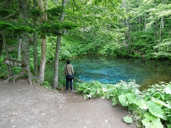2009 北海道 一人旅 48日目 駒止湖~然別湖~オンネトー摩周湖
