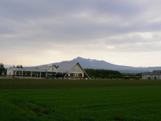 2009 北海道 車中泊の旅 21日目-1 道の駅摩周温泉~天に続く道