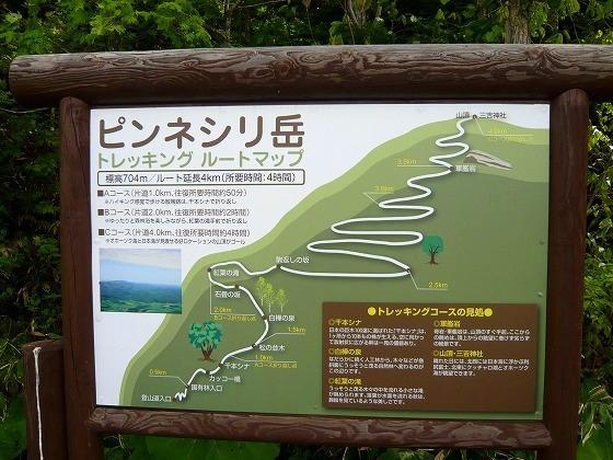 2009年 北海道 車中泊の旅 13日目-1  ピンネシリ岳