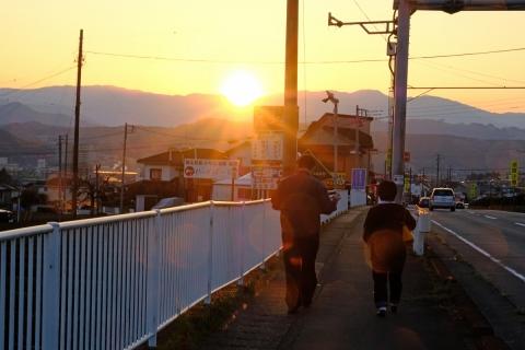 01夕焼け散歩