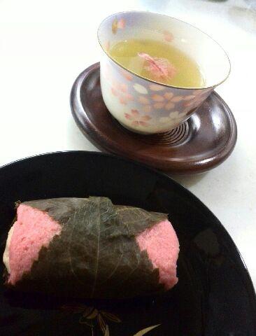 ローカーボな桜餅