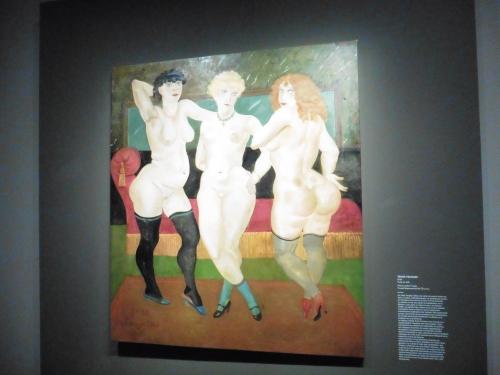 フジタ3裸婦