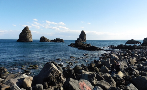 アーチトレツァ岩