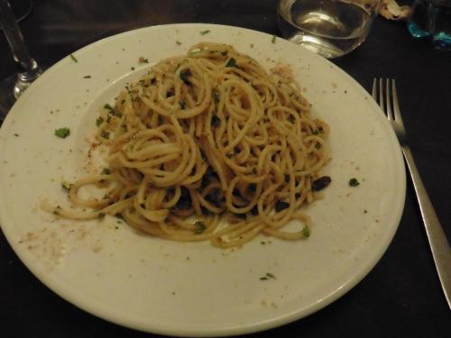 シラクーサシチリア風スパゲティ